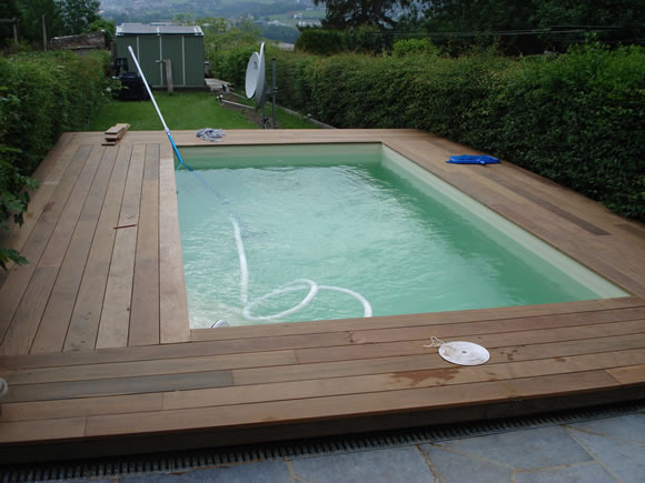 Photos de r alisations piscines theux li ge images for Construction piscine tva